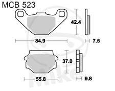 TRW Lucas Pastiglie mcb523 posteriore CECTEK Gladiator 500 t5 EFI LOF IX