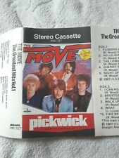 CASSETTE THE MOVE THE GREATEST HITS VOL 1 PICKWICK