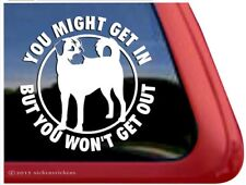 You Might Get In….Anatolian Shepherd Guard Dog Decal Sticker