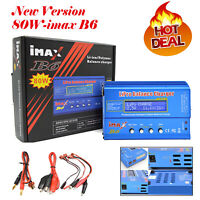 iMAX B6 80W RC Battery Balance Charger Discharger Digital Lipo NiMh Li-ion #c