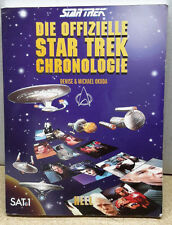 German Star Trek Chronology Sotfcover Reference Book- Free S&H (C5904)