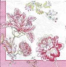 Lot de 4 Serviettes en papier Motif Cachemire Decoupage Collage Decopatch