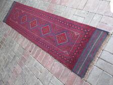 3735 # Tribale Mano Annodato meshwani RUNNER 64 x 257 cm