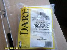 NIB Dare Woodex Wood Post Insulator Extender For Electric Fence (jr)