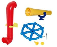 Kids Toy Telescope Periscope Wheel for Garden Climbing Frame Children Play House