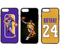 KOBE BRYANT LAKERS PHONE CASE FOR iPHONE 11 PRO XS MAX XR X 8 PLUS 7 6S PLUS
