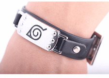 Naruto Uzumaki Kunai Konoha ninja village Wristban Bracelet Weapon Punk Bangle