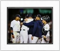 """Mariano Rivera New York Yankees Final Career Game Photo (Size 11"""" x 14"""") Matted"""
