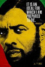 Mandela: Long Walk to Freedom Original D/S Advance Movie Poster 27x40 NEW 2013
