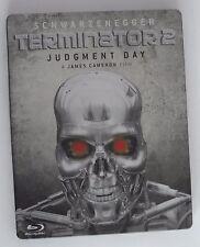 Terminator 2 - Judgment Day (Blu-ray, 2009) Rare UK Steelbook OOP