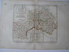 Languedoc Dauphiné, Provence par Robert de Vaugondy-Delamarché 1800