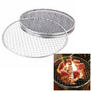 29.5cm BBQ Grill Stainless Steel Replacement Mesh Wire Mesh Outdoor Chef Picnic