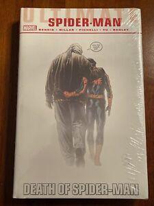 New SPIDER-MAN death of ultimate OMNIBUS vol 1 2 miles morales OOP HC Marvel