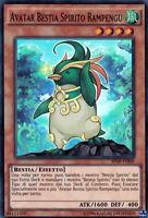 YU-GI-OH! AP08-IT009 Avatar Bestia Spirito Rampegu S Rara Yugioh Italiano