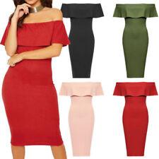 Regular Size Sleeveless Dresses for Women with Peplum