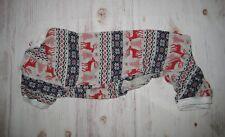 New listing Lanyarco Cotton Shirt Dog Pajamas Christmas Reindeer Snowflakes Sz Medium *Nwot*