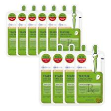 MEDIHEAL Teatree Care Solution Essential Korea Firming Sheet Mask Pack REX 10EA
