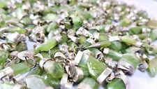 Peridot Spitzen - Anhänger grün - mit Silber - Kristall aus Pakistan