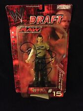 JEFF HARDY SIGNED WWE RAW DRAFT FIGURE