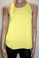 VALLEYGIRL Brand Yellow Textured Sleeveless Tank Blouse Top Size XS BNWT #SE101