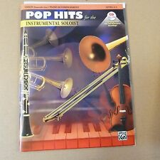violin POP HITS for the INSTRUMENTAL SOLOIST incl. CD, Level 2-3