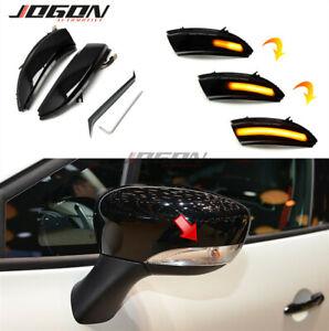 LED Dynamic Mirror Indicator Light For Renault Captur Kaptur 13-16 Clio IV MK4