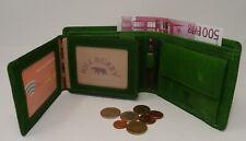 Geldbörse Geldbeutel  grün RFID Scheintasche Portemonnaie 9 Fächer HILL-BURRY