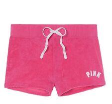 Victoria Secret PINK Shorts Terry Retro Lounge Pink on Fleek NWT M Medium
