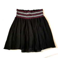 Torrid Black Skirt Elastic Waist Size 1