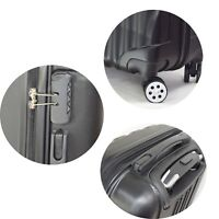 Hartschalen Handgepäck Koffer für Urlaub, TSA Zahlenschloss - RK2 Schwarz S
