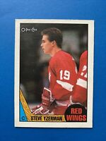 STEVE YZERMAN 1987-88 O-Pee-Chee Hockey Card #56 DETROIT RED WINGS