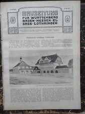 1911 Neckarsulm Schulhaus