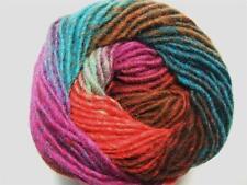 Noro Kureyon Fuschia Teal Brown Purple Wool Yarn Per Skein 326 Lot F