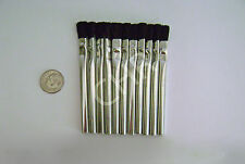 Glue Acid Flux Tin Brushes 12 Mini #00 Hairpiece Lace Wig Ultra Hold Craft