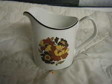 C4 Pottery Johnson Bros 1B3 Floral Milk Jug 19x13cm 3C5B