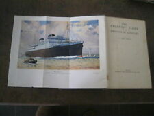 THE ATLANTIC FERRY IN THE 20TH CENTURY MARITIME HISTORY