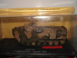 Char - Tank AAVP7 A1 1st Usmc Division - Kuwait 1991 to the / Of 1 /72°