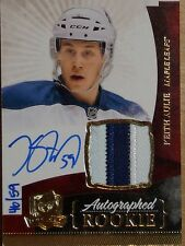 UPPER DECK 10-11 *THE CUP* KIETH AULIE GOLD ROOKIE AUTO/JERSEY #40/59