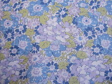 ISABELLA in BLUES & LILACS  75 CMS  on TANA LAWN COTTON