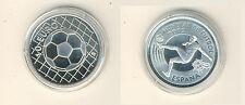 Spanien 10 Euro 2002 Fußball-WM in Japan und Korea Silber PP (M00417)