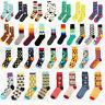 New Casual Cotton Socks Design Multi-Color Athletic Cool Men's Women's Socks FT