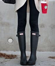Women's Hunter 'Original' Tall Black Matte Rain Boots Size 5 US/ 36 EU