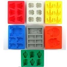 Nuevo molde de silicona bandeja vibrante de Star Wars de hielo Ice Cube Tray OP