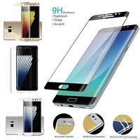 Protector Pantalla Vidrio Cristal Templado H9+ para Samsung Galaxy S7 S8 Note 8