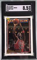 Michael Jordan 1992-93 Topps 50 Point Club #205 Gold SGC 8.5