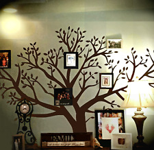 (2 PACK LISTING) Chestnut Brown (8' x 9'-Foot) Family Tree Wall Decal Home Decor