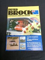 SIGNED Peter Brock Australia's Ace Driver Magazine 1979 Ray Bell Barry Lake #B