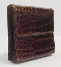 Vintage Ralph Lauren Collection Alligator Wallet NWT