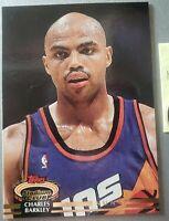 CHARLES BARKLEY 1993 TOPPS STADIUM CLUB NBA SUNS ROCKETS 76'ERS MINT CONDITION