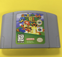 Super Mario N64 AUTHENTIC FREE SHIPPING *TESTED*